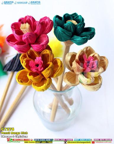 Pensil Bunga Klob