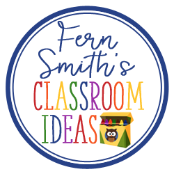 Fern Smith's Classroom Ideas FREE Quick and Easy to Prep Christmas Math Division Center Games Divide By Two and Four at Classroom Freebies.
