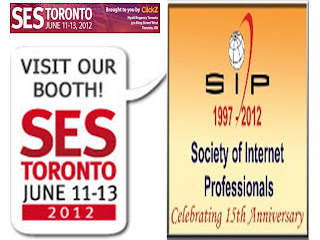 SES: Search Engine Strategy Toronto, SIP 2012