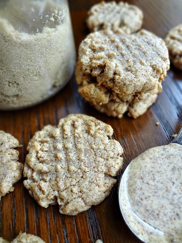 3 Ingredient Almond Butter Cookies