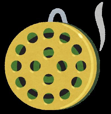 蚊取り線香のイラスト(カバー付き)