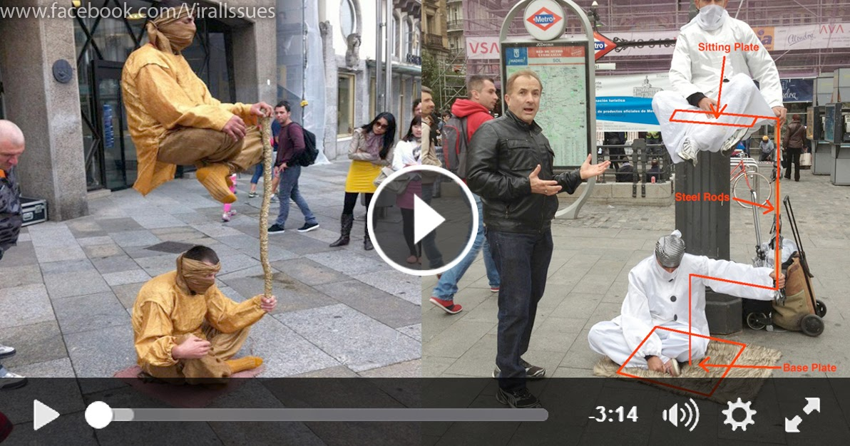 The Levitating Man - Tricks Revealed