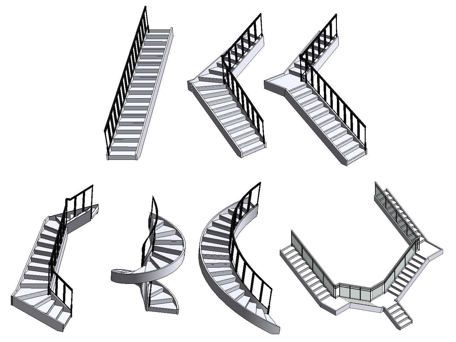 Stairs, Stairs, and More Stairs- We do need some more