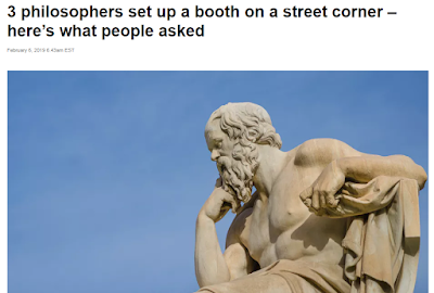 What would you ask a philosopher?