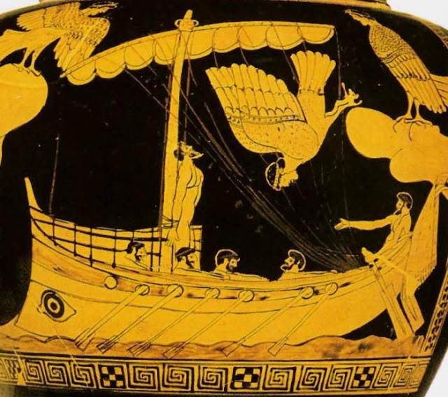 Η Ελληνική  θαλασσινή  μυθολογία και τα μυθογέννητα και γλαυκοθώρητα ελληνικά νησιά