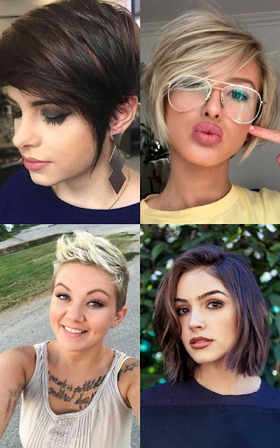 15 popular short hairstyles for round face shape in 2017 all