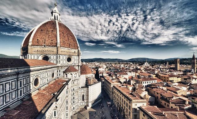 Mapa turístico de Florença