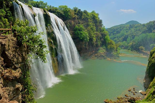 Jiulong Waterfall - China
