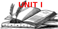 UNIT I BT