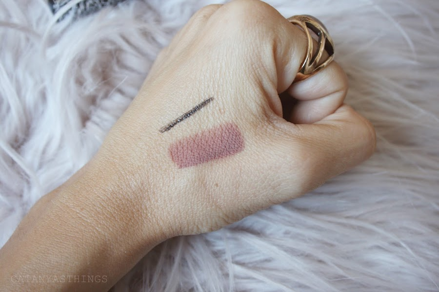 bow n arrow look swatches ink liner everlasting liquid lipstick kat von d