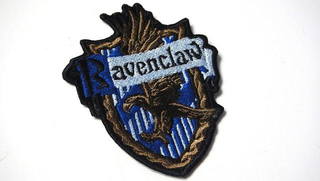 Эмблема Когтевран - патч Равенклав - нашивка на одежду, машинная вышивка на заказ Ravencluw