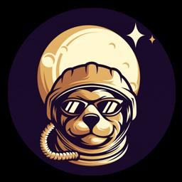 logo anjing vektor