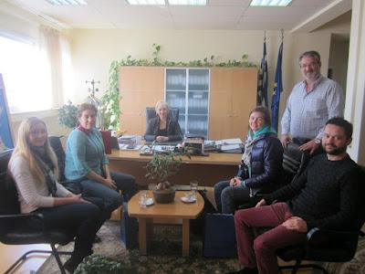 """""""Φιλοξενία εκπροσώπων του Πανεπιστημίου Λομονόσοφ της Μόσχας στην Πιερία"""""""