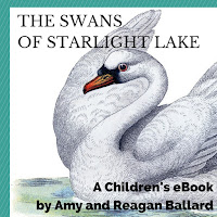 ebook, kindle, swans, birds, Amy Ballard, kids, fairy tale, story, book, new, fiction