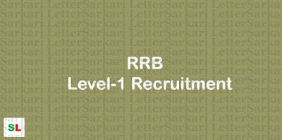 RRB Level 1 Vacancy 2019