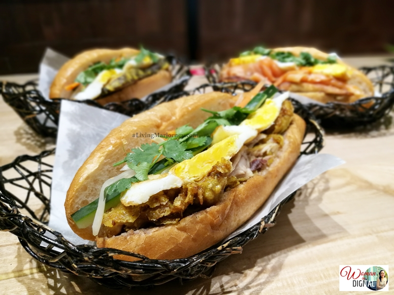 Banh Mi Crispy Fried turmeric chicken