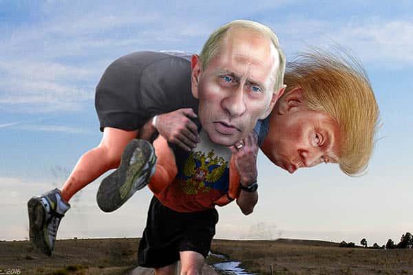 Los nefastos vínculos de Donald Trump con Putín