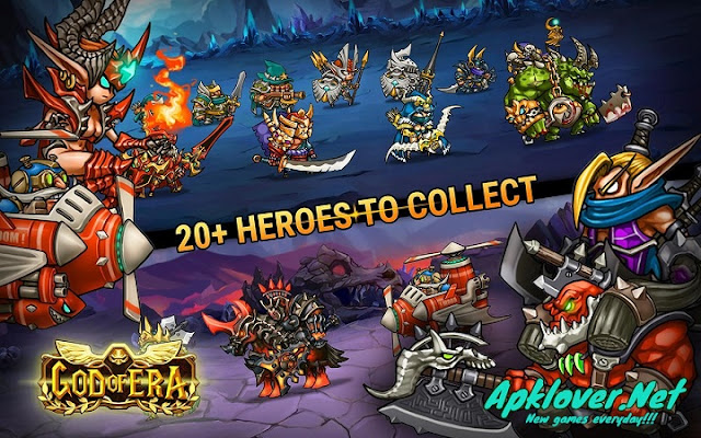 God of Era Heroes War MOD APK unlimited money