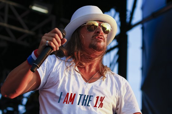 As Worn By Kid Rock - I AM THE 1% t-shirt. PYGOD.COM