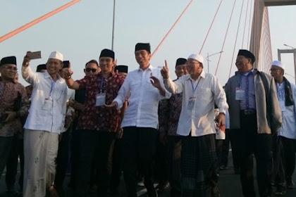 Gratiskan Suramadu Sudah, Kumpulkan Ulama Sudah, Hasilnya? Jokowi Keok di Madura