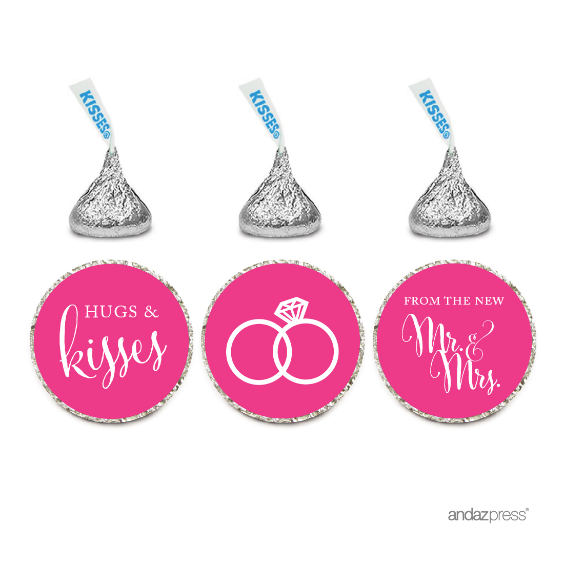Andaz Press Wedding Party Signs: Andaz Press Chocolate Drop Labels ...