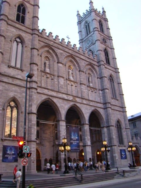 OLD TOWN, MONTREAL. NOTRE DAME