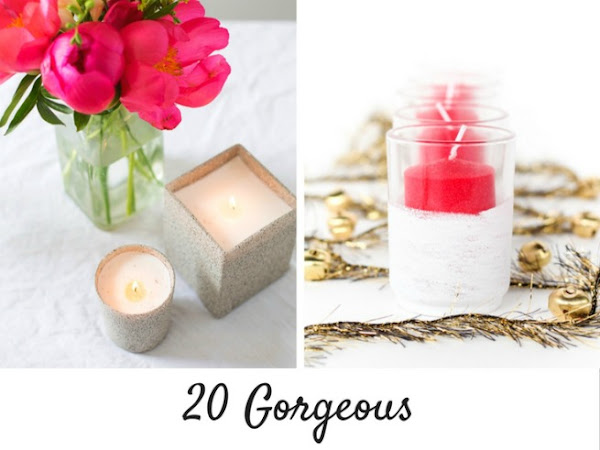 20 Gorgeous Votives You Can Easily DIY
