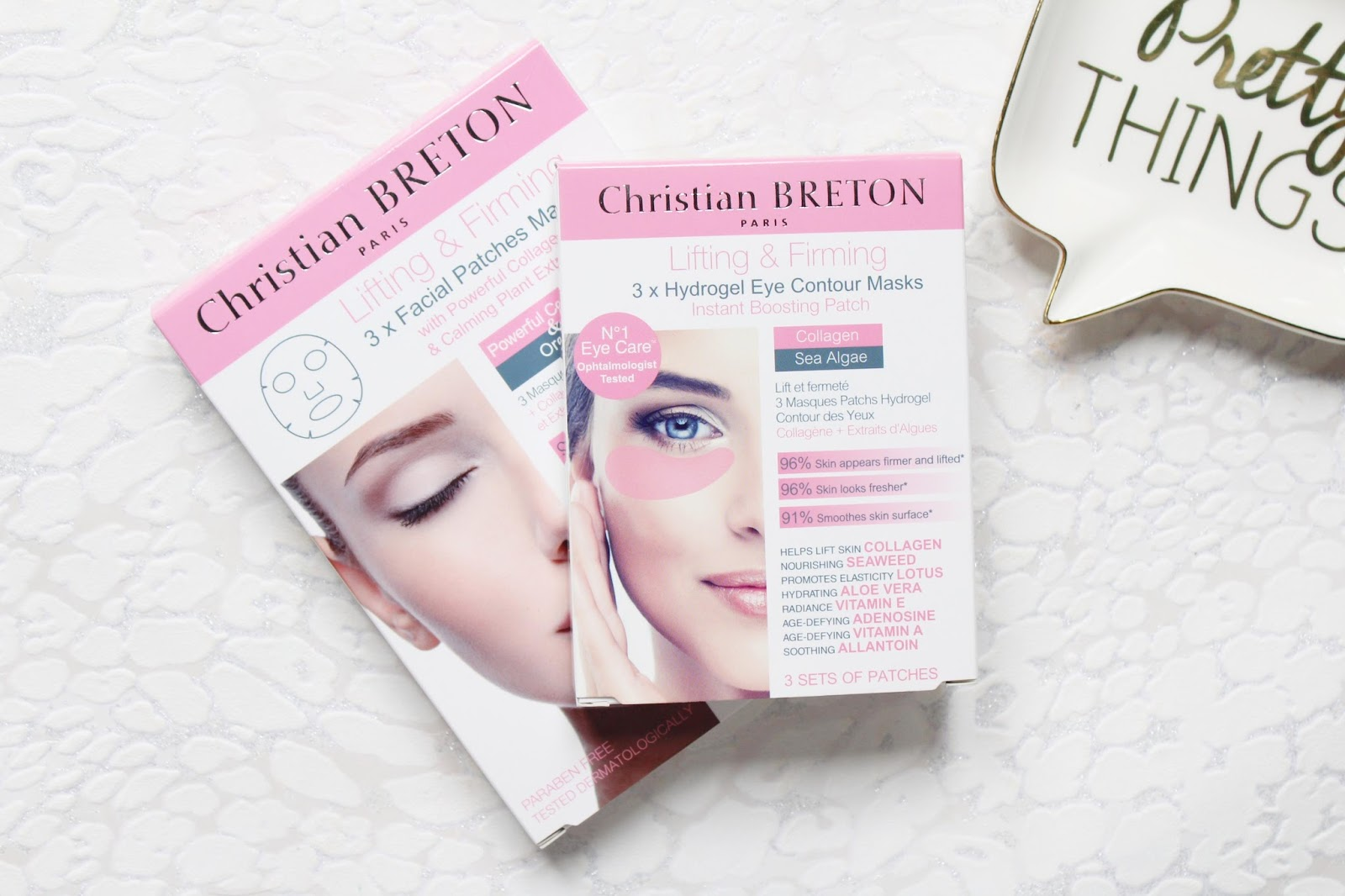 Christian BRETON Lifting & Firming Masks