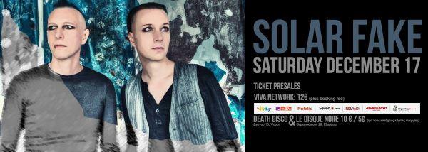SOLAR FAKE: Σάββατο 17 Δεκεμβρίου @ Death Disco