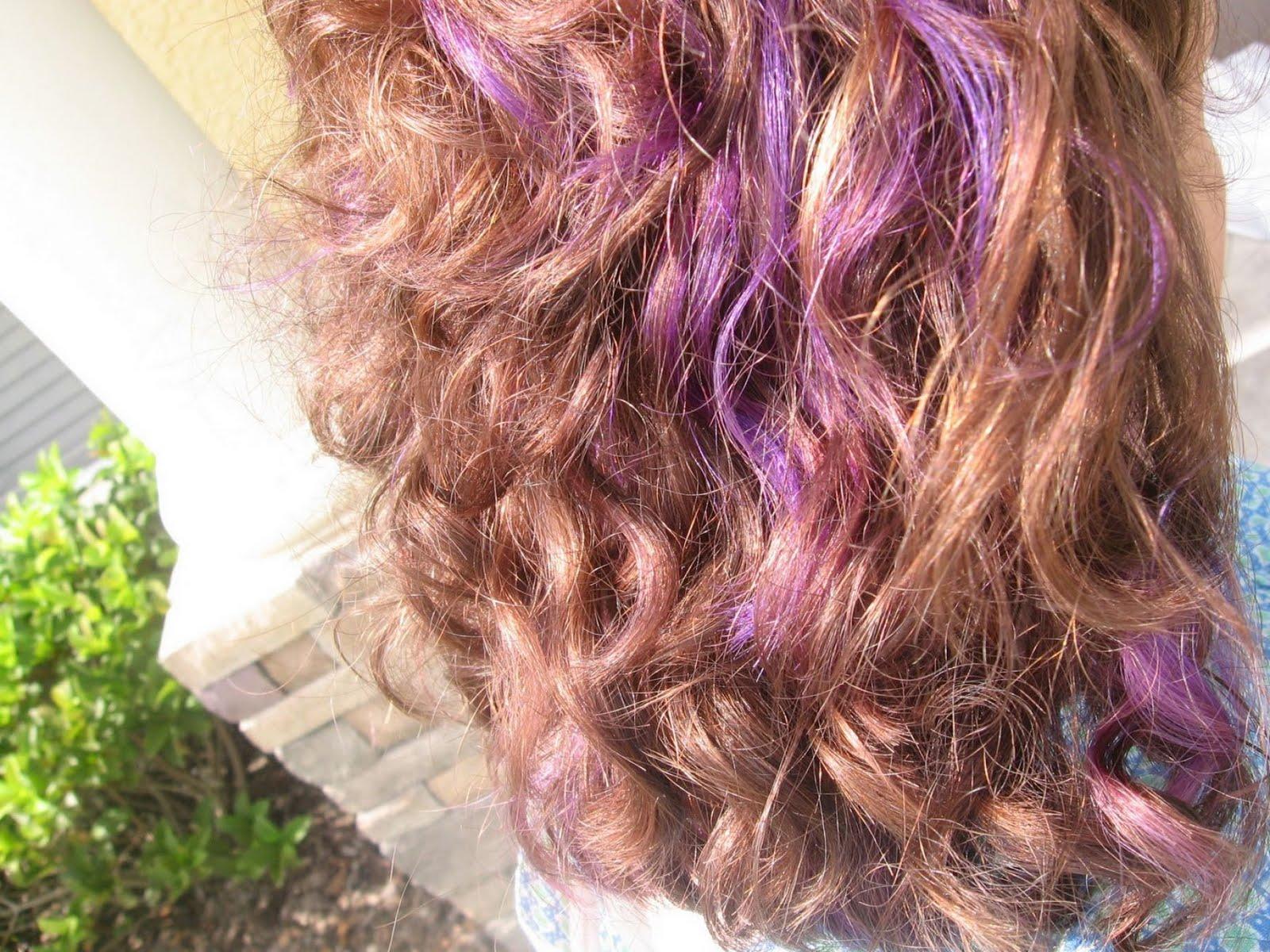 Video Justin Bieber: Girls With Purple Hair Highlights ...