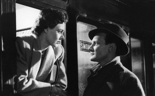 Celia Johnson and Trevor Howard