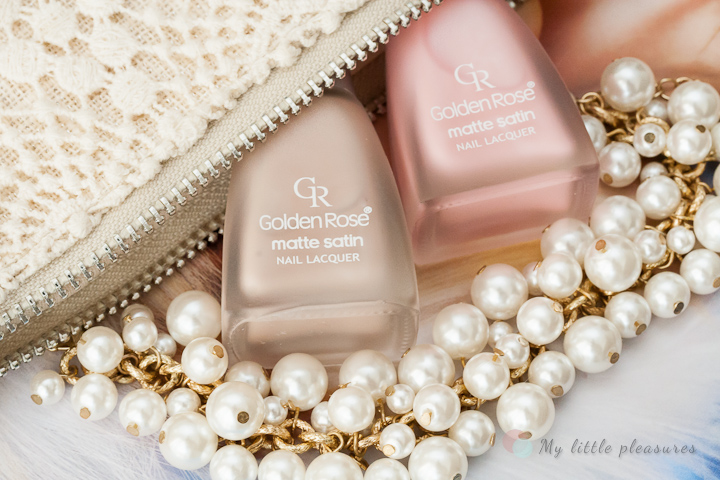 Golden Rose Matte Satin Nude 01 & 05