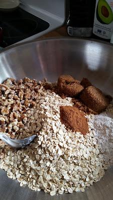 Brown Sugar Cinnamon Granola, another breakfast favorite.