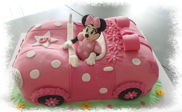 Mes cr ations p tissi res en voiture minnie - Voiture minnie ...