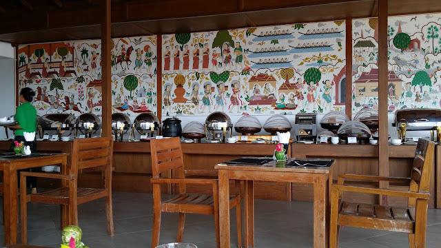 Desayuno bufett en el Hotel Zfreeti