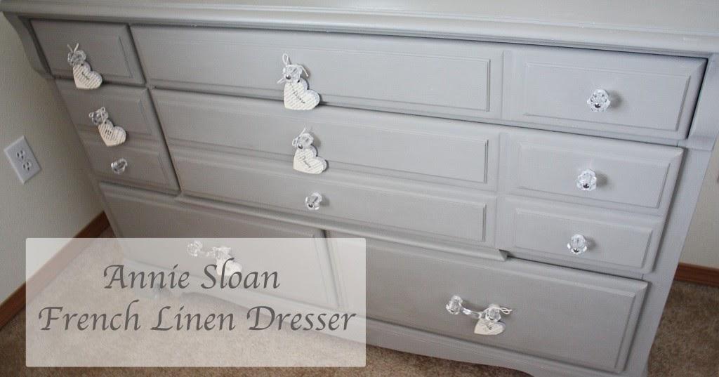 Beingbrook Gray Dresser Annie Sloan French Linen