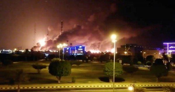 Τίναξαν στον αέρα τις πετρελαϊκές εγκαταστάσεις της Σαουδικής Αραβίας - Αλυσιδωτές εκρήξεις (βίντεο)