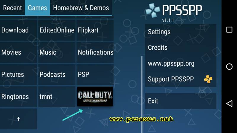 How To Play PSP Games On Android With PPSSPP Emulator - Pcnexus