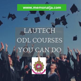 LAUTECH LAUTECH ODL Courses