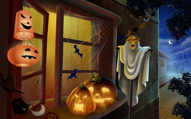 Halloween backgrounds desktop 3