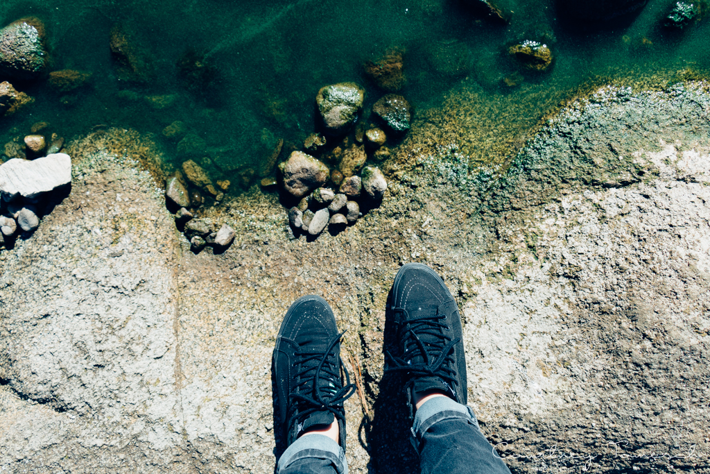 Courtney Tomesch Exploring Lake Hemet