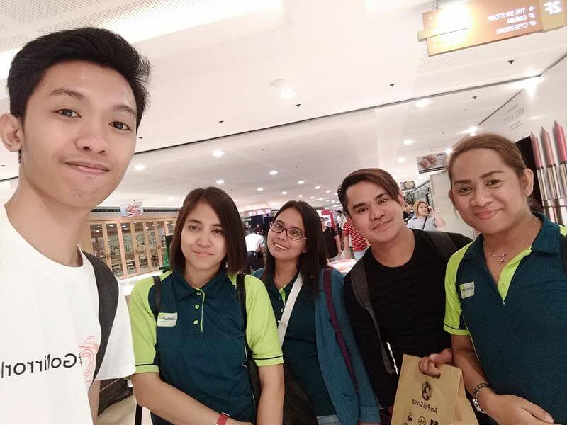 Huawei Y7 Prime Front Camera Sample - Groufie