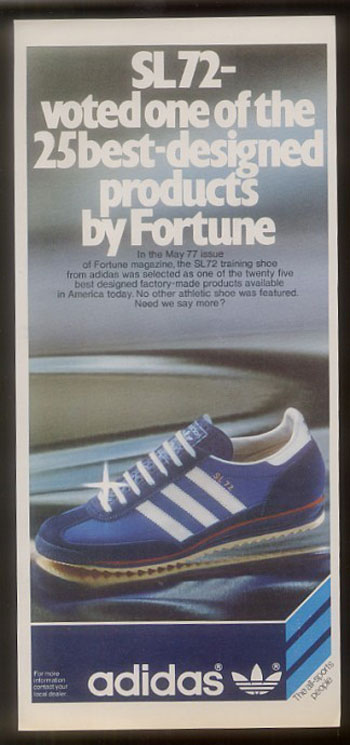 1970 S Adidas Nike Advertising Footwearfloozy