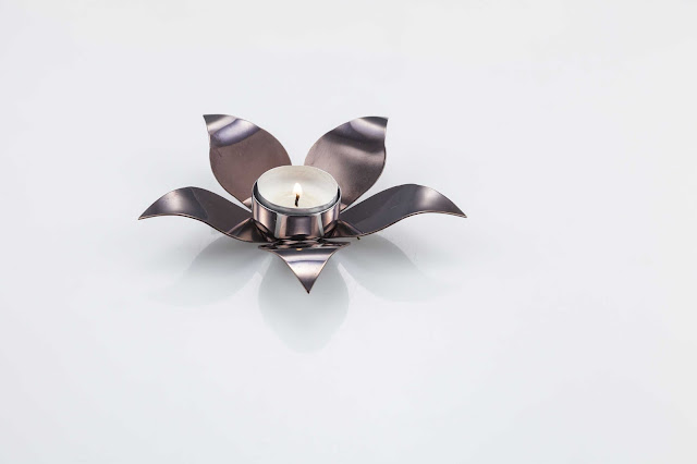 Bell Flower PLain with PVD for Rs 1100 by Arttdinox