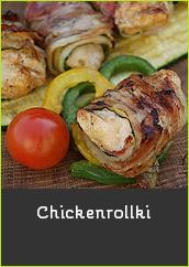 Chickenrollki czyli kurczak zawijany w boczku  cukinii boczek cukinia pomysł na grilla mechanik w kuchni grill bbq kurczak pierś kurczaka grillowana z grilla