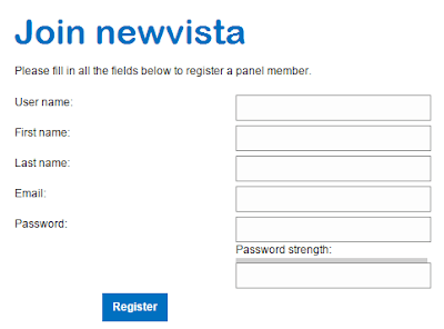 Registration procedure | Newvistalive