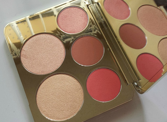 REVIEW | Becca x Jaclyn Hill Champagne Collection Face Palette, amaretto, pamplemousse, champagne pop, prosecco pop, rose spritz, swatches