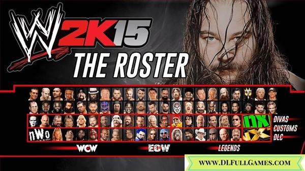 WWE 2K15 Free Download PC Game
