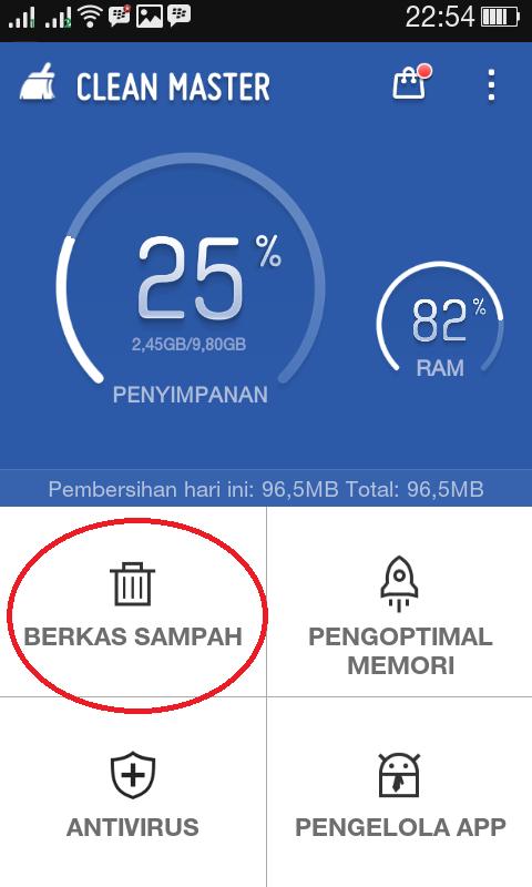 Cara Menghapus File Misc di Android