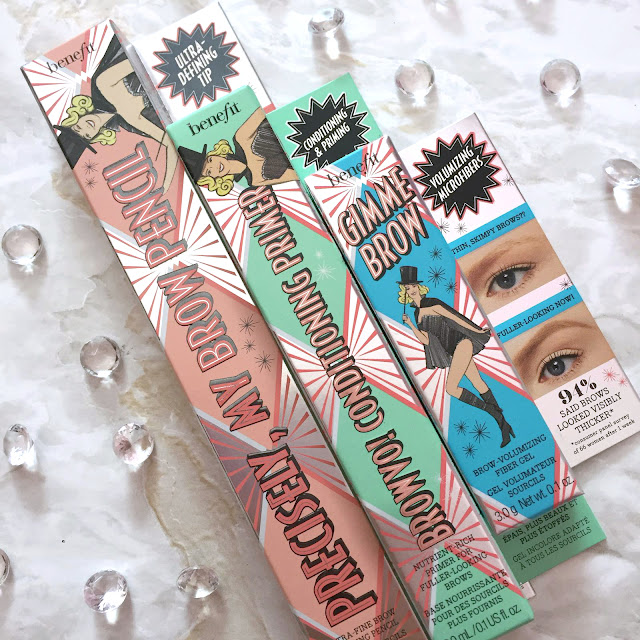 Brow Haul - My New Benefit Brow Products